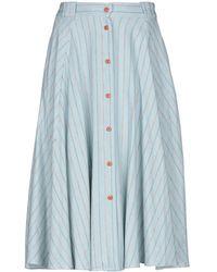 Sessun 3/4 Length Skirt - Blue