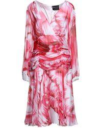 Fontana Couture Vestido por la rodilla - Rosa