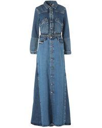 DIESEL Long Dress - Blue