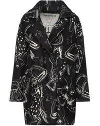 Shirtaporter Overcoat - Black
