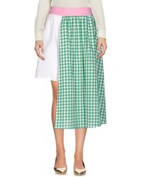 Au Jour Le Jour - 3/4 Length Skirt - Lyst