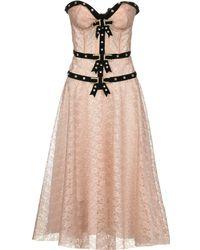 Philosophy Di Lorenzo Serafini - Knee-length Dress - Lyst