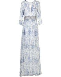 Blugirl Blumarine Long Dress - White