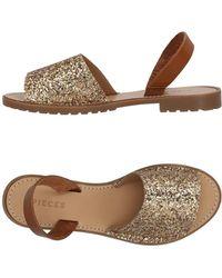Pieces - Sandals - Lyst