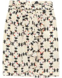 Isabel Marant Knee Length Skirt - White