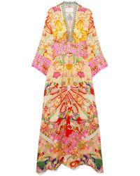 Camilla Vestido de playa - Multicolor