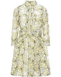 Maje Knielanges Kleid - Gelb