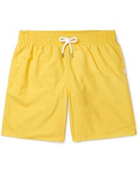 Derek Rose Swim Trunks - Yellow
