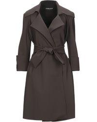 La Petite Robe Di Chiara Boni Overcoat - Brown