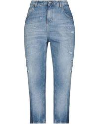 Aglini Denim Trousers - Blue