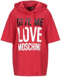 Love Moschino Camiseta - Rojo
