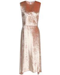 TOME 3/4 Length Dress - Pink