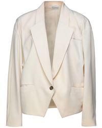 Fontana Couture Suit Jacket - Natural