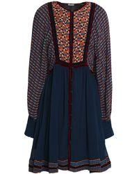 Talitha Short Dress - Blue
