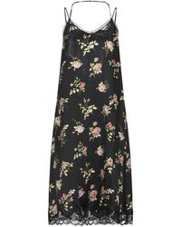 R13 3/4 Length Dress - Black