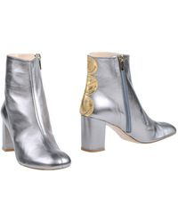 Camilla Elphick Ankle Boots - Grey