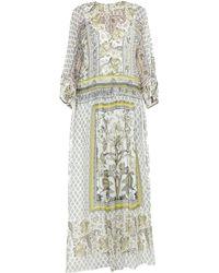 Alberta Ferretti Long Dress - Green