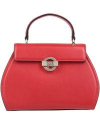 Borbonese Handbag - Red