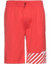 Diadora Shorts & Bermuda Shorts - Red