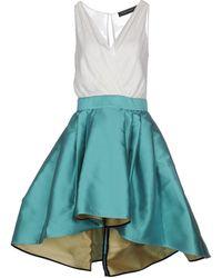 Christian Pellizzari Short Dress - Blue