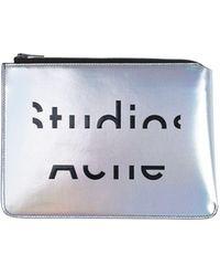Acne Studios Pouch - Metallic