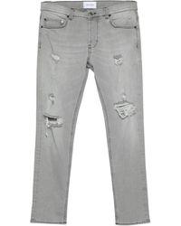 Aglini Pantalones vaqueros - Gris