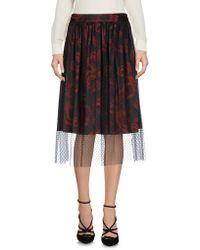 X's Milano - 3/4 Length Skirt - Lyst