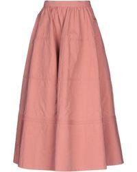 Bottega Veneta 3/4 Length Skirt - Pink