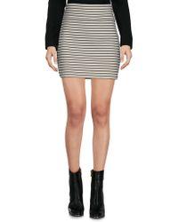 Petit Bateau Mini Skirt - White