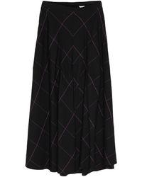 Paul Smith Midi Skirt - Black