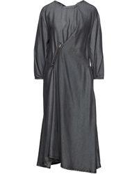 Zucca Vestido midi - Gris