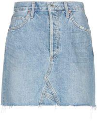 Citizens of Humanity Denim Skirt - Blue