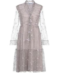 Blumarine Knee-length Dress - Gray