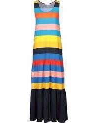 Chinti & Parker Long Dress - Blue