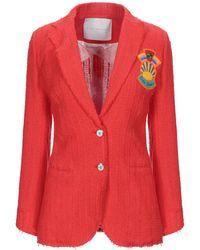 Giada Benincasa Suit Jacket - Red