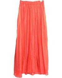 Niu Long Skirt - Red