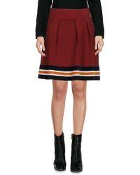 Scotch & Soda - Mini Skirt - Lyst