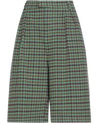 WEILI ZHENG Shorts & Bermuda Shorts - Green