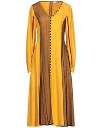ADEAM Midi Dress - Orange