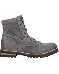 Lumberjack Ankle Boots - Grey