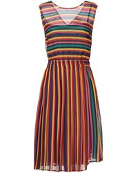 Attic And Barn Knee-length Dress - Red