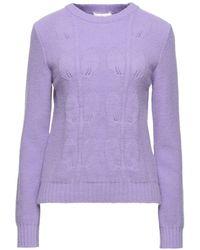 be Blumarine Sweater - Purple