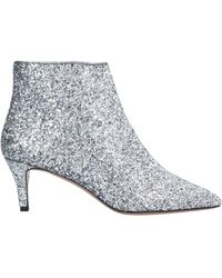 P.A.R.O.S.H. Ankle Boots - Metallic