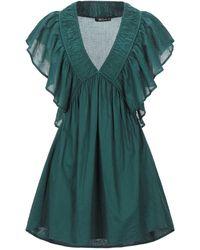 Mes Demoiselles Short Dress - Green