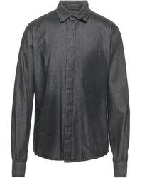 Philipp Plein Chemise en jean - Noir