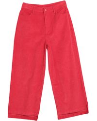 Lazy Oaf Trouser - Red