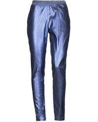 Jijil Denim Trousers - Purple