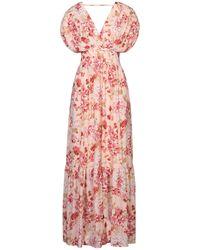 Twenty Easy By Kaos Long Dress - Pink