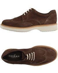 Hogan Stringate - Marrone
