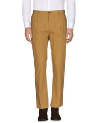 Mauro Grifoni Casual Trouser - Natural